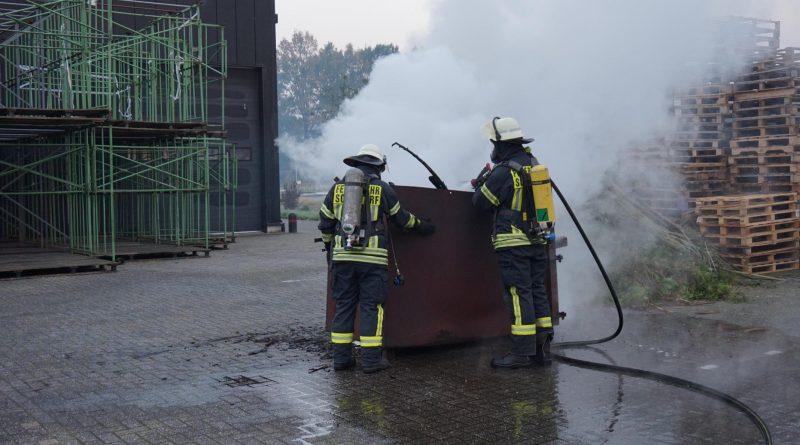 B3 Industrie- und Gewerbebrand
